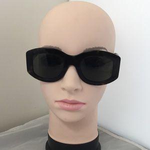 Celine CL 41092 Oval Plastic Sunglasses (ca1)